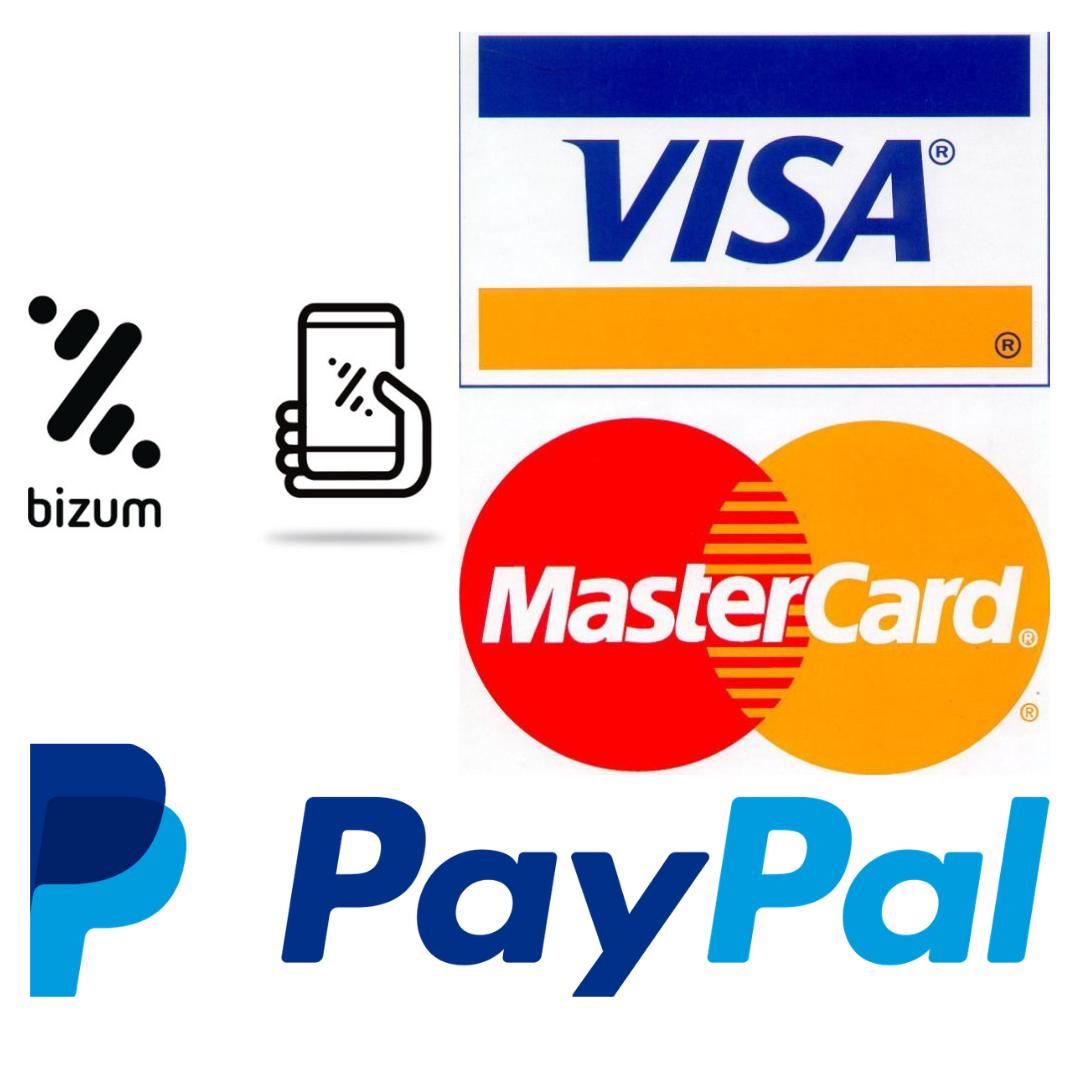 tarot-bizum-paypal-mastercard-visa